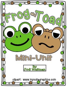 Frogs and Toads Non-Fiction Mini-Unit