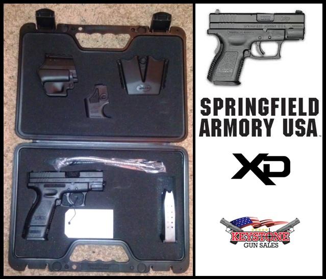 Keystone Gun Sales / Springfield XD9 Subcompact Pistol, 9mmLoading that magazine is a pain! Save those thumbs & bucks w/ free shipping on this handgun magazine loader i got mind at  http://www.amazon.com/shops/raeind