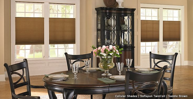 Brown Cellular Shades-Softspun TwinCell-Saddle Brown-3 Day Blinds