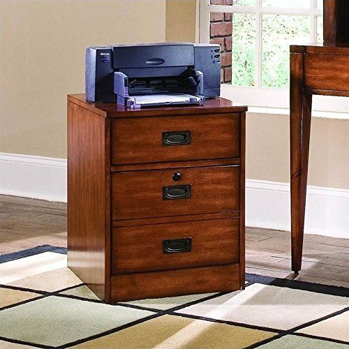 Danforth's styling is inspired by British campaign sea chests from the colonial era. A rich medium brown finish is rendered on birch solids and cherry veneers. Recessed campaign hardware is used on drawer and doors. This SOHO group, primarily designed for laptop use, gives several options... more details available at https://furniture.bestselleroutlets.com/home-office-furniture/file-cabinets/mobile-file-cabinets/product-review-for-hooker-furniture-danforth-mobile-file-in