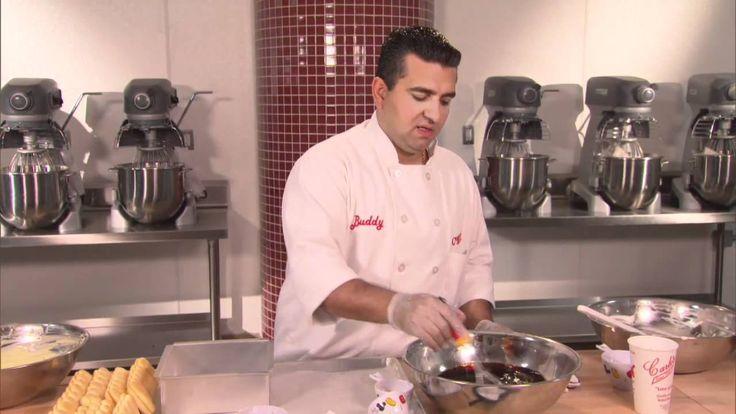 Watch The Cake Boss make a Tiramisu! Thank you #DisneyParks for sharing the video.