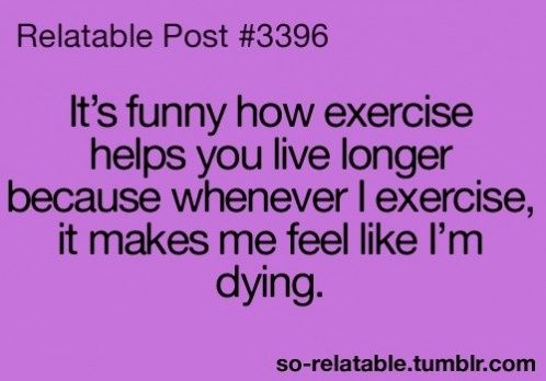 #Exercise Relatable Quote