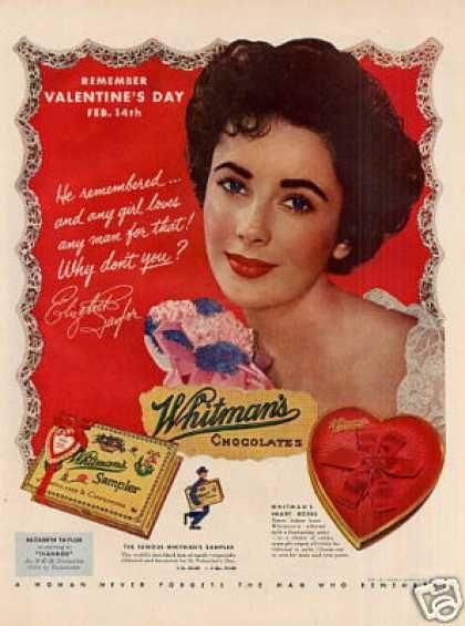 pretty Liz Valentine Card