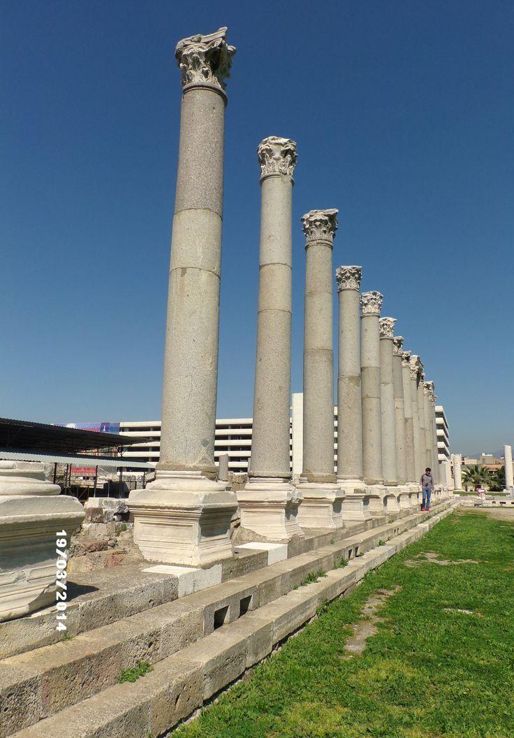 Agora, İzmir, TURKEY.