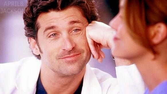 """I don't need to force myself to look like I'm in love with her."" -Patrick Dempsey about Ellen Pompeo"