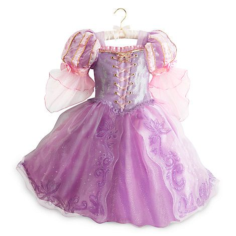 Rapunzel Costume Dress (£30 from Disney or £13 from Tesco/Sainsbury's/ASDA)