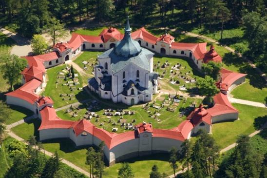 Ždár nad Sázavou - Kostel svatého Jana Nepomuckého  (Pilgrimage Church of Saint John of Nepomuk - UNESCO)