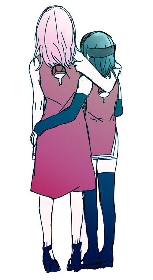 Sakura y Sarada