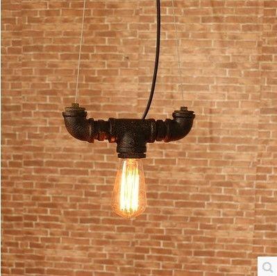Промышленные Лампы Стиле Лофт Эдисон Старинные Подвесные Светильники Светильники Для Бар Водопровод Ретро Лампы Промышленное Освещение