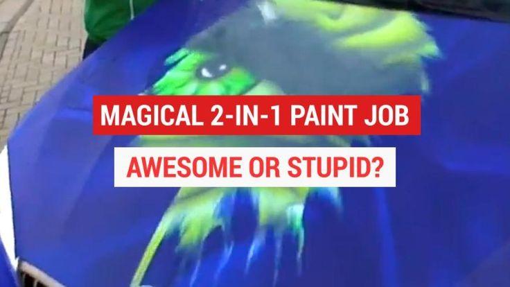 Rene Turrek's 2-in-1 thermochromic paint jobs