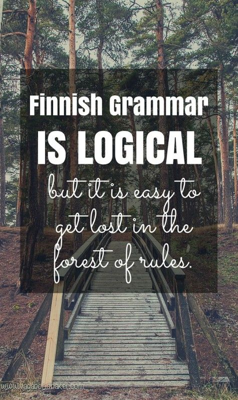 Finnish grammar is logical // Suomi // 4 Things That Are Easy About Learning Finnish