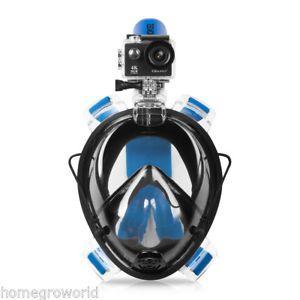 a mascara de natacion kuokel cara completa anti niebla de buceo gafas snorkel buceo snorkeling