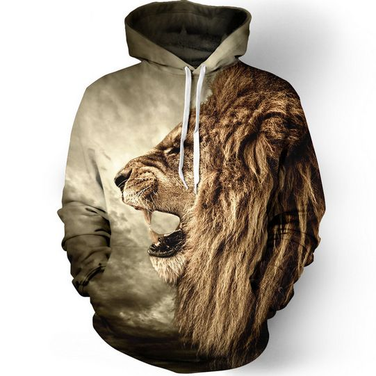 Lion 3D Print Hoodie //Price: $29.99 & FREE Shipping //     #hashtag4