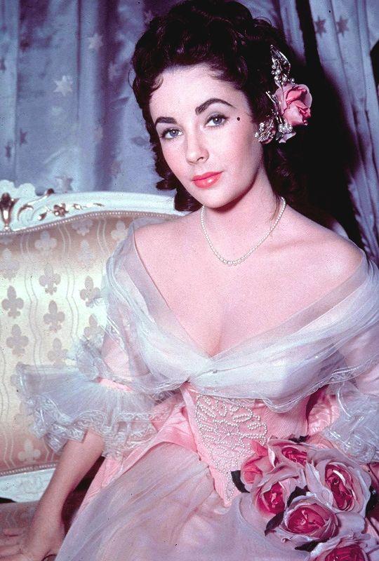"vintagegal: "" Elizabeth Taylor in Beau Brummell (1954) """