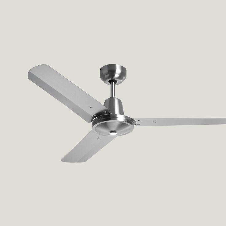 Swift Stainless Steel Ceiling Fan Light And Remote Control