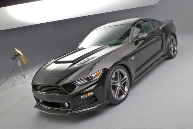 2015 Roush Mustang Looks So Much More Aggressive Studio Shot