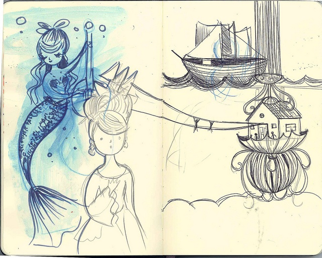 Todos os tamanhos   Sketchbook, via Flickr.: Photo
