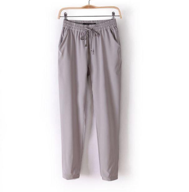 Módní dámské barevné volné pohodlné kalhoty šedé – Velikost L Na tento produkt se vztahuje nejen zajímavá sleva, ale také poštovné zdarma! Využij této výhodné nabídky a ušetři na poštovném, stejně jako to udělalo již …
