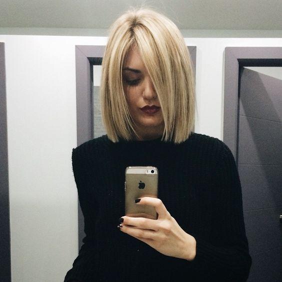10 prachtige bob kapsels in mooie blonde kleuren! - Kapsels voor haar
