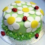 """""""cake design - decorazione dolci torte e cupcake primavera (9)"""""""
