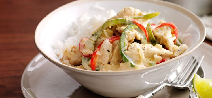 Thai Green Curry using philly tried & loved