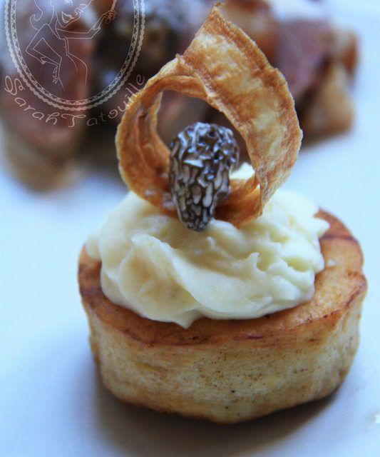 Petits paniers de panais et magret à la morille - une recette savoureuse idéale pour impressionner ! @sabarotwassner