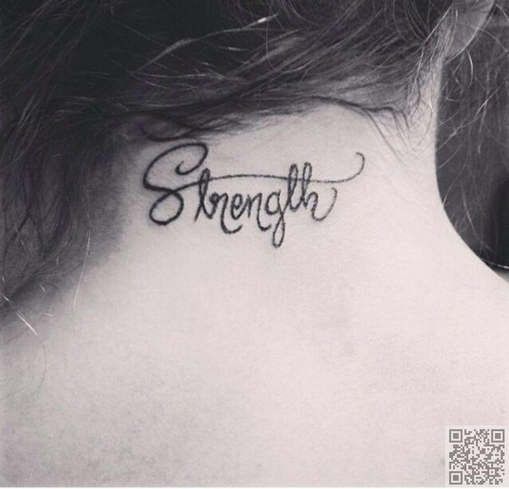 14. #fuerza - 44 tatuajes #delicados y femenino... → #Beauty