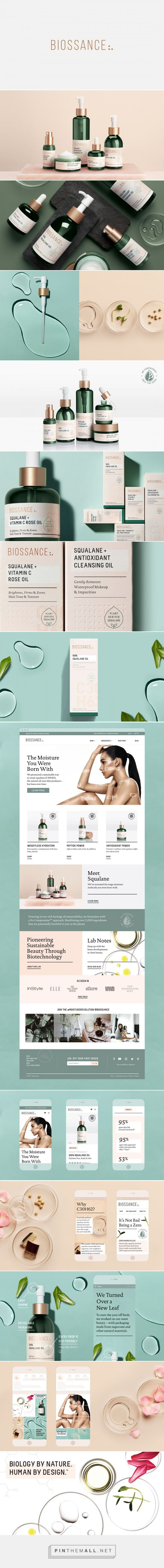 Biossance Skincare Branding, Packaging, and Web Design by Bartlett Brands | Fivestar Branding Agency – Design and Branding Agency & Curated Inspiration Gallery (Beauty Design Cosmetic)