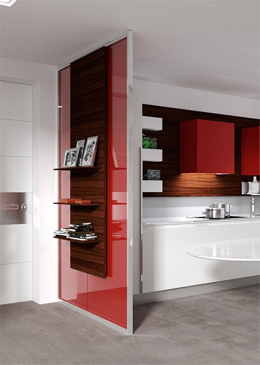 Kitchen Divider Design Ideas ~ Partition wall skin by movi design castiglia associati