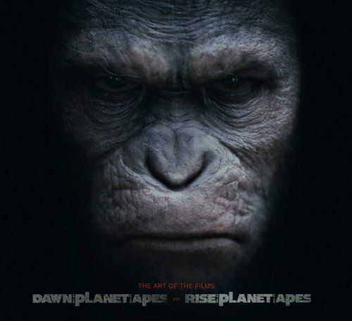 Rise of the Planet of the Apes and Dawn of Planet of the Apes: The Art of the Films by Matt Hurwitz et al., http://www.amazon.co.uk/dp/1783291974/ref=cm_sw_r_pi_dp_AYVWtb0QDJ2F5