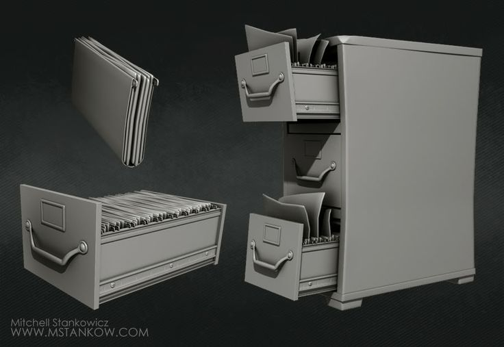 An Office Scene - Polycount Forum