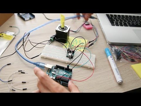 Cheapest arduino moco driver setup tutorial for stop motion purposes - YouTube