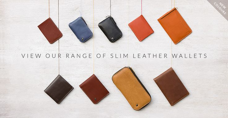 Our wallet range