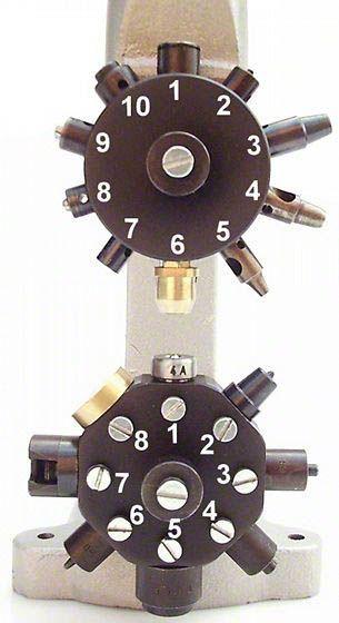 Lederhaus ® Maschinenwerkzeug für Leder: Revolverspindel, Druckknopfwerkzeug, Nietwerkzeug, Ösenwerkzeug, Lochpfeife