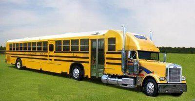 """""""Kids......the School Bus is Waiting"""", pinned by Ton van der Veer"""