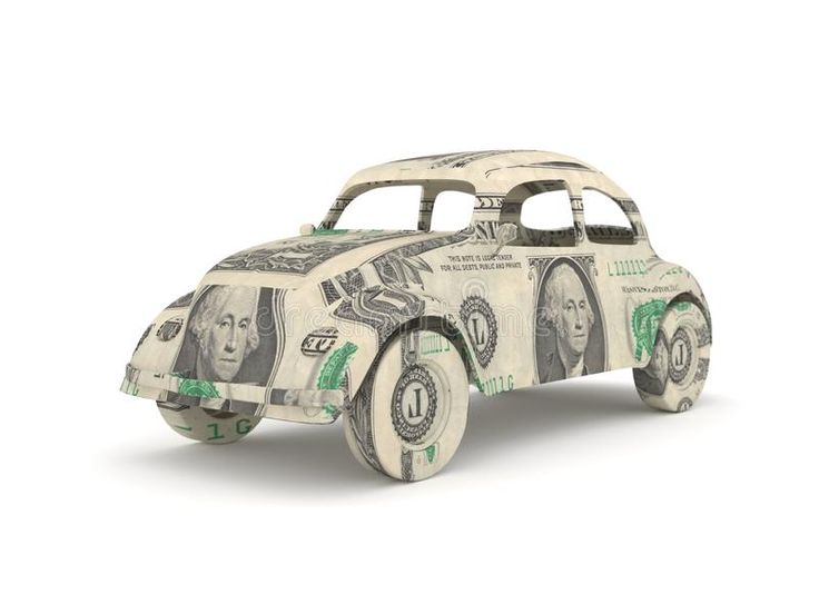 Download Vintage Car Origami Made From Dollar Bill…