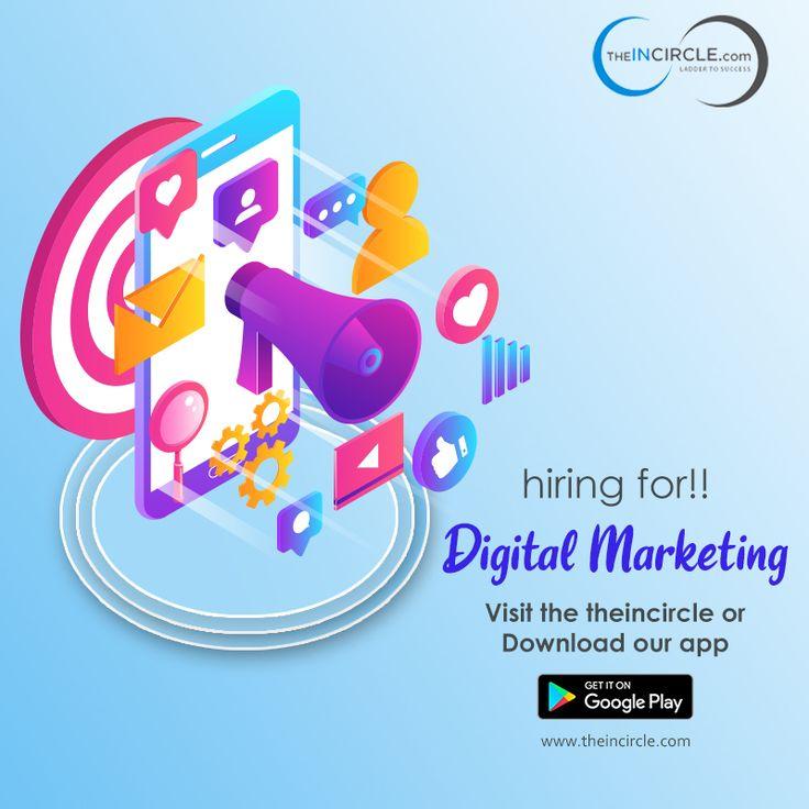 Urgent Hiring For Digital Marketing Jobs Marketing jobs