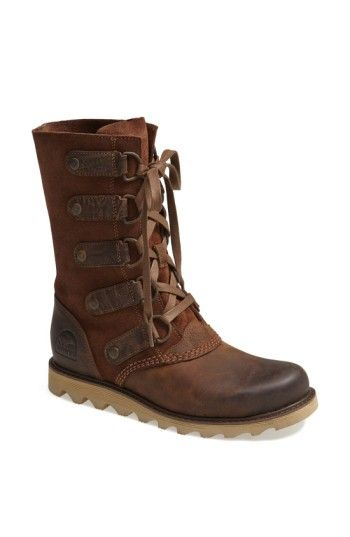 e4ca733999c1 Free shipping and returns on SOREL  Scotia  Lace-Up Waterproof Leather Boot  (Women) at Nordstrom.com. A waterproof
