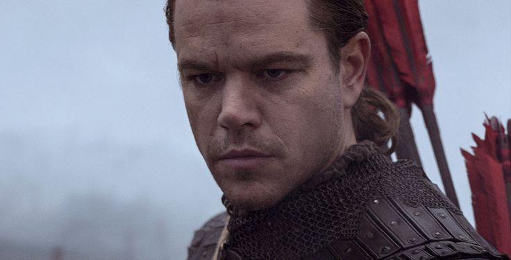 """William Garin (Matt Damon) muss in """"The Great Wall"""" gegen eine übernatürliche Bedrohung kämpfen"""