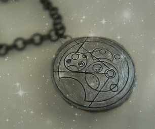 DIY Gallifreyan pendants! You won't believe how easy these are! #gallifreyan #doctor who #DIY