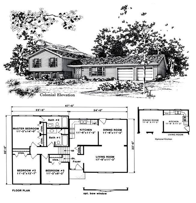 Garage Under Split Level Plan 69133am: 25+ Best Ideas About Tri Level Remodel On Pinterest