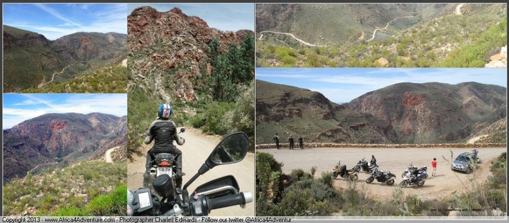 Swartberg mountain pass - another brilliant #motorcycle #adventure #ride