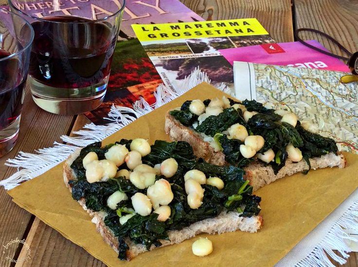 Briciole di Sapori : Crostini toscani con cavolo nero e fagioli zolfino...