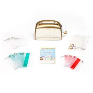 @Overstock.com - Anna Griffin Cricut Cuttlebug Machine with 14 Bonus Folders - This special bundle Cricut Cuttlebug machine bundle includes everything needed for crafting all your inspired ideas. Whether embossing your favorite designs or adding texture to a number of projects, this versatile set is the complete package.  http://www.overstock.com/Crafts-Sewing/Anna-Griffin-Cricut-Cuttlebug-Machine-with-14-Bonus-Folders/9109582/product.html?CID=214117 $99.99
