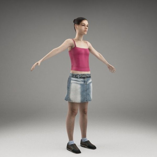 axyz rigged characters x