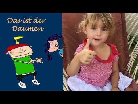 Reime - Fingerspiele für Kleinkinder - Das ist der Daumen - Kinderlieder...