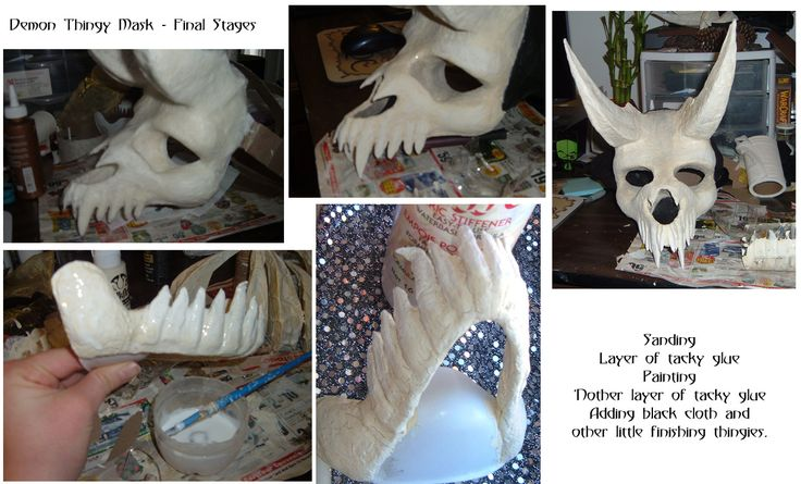 Toilet paper! Amazing creative! Undead Demon Costume - Final by ~Lizard-of-Odd on deviantART