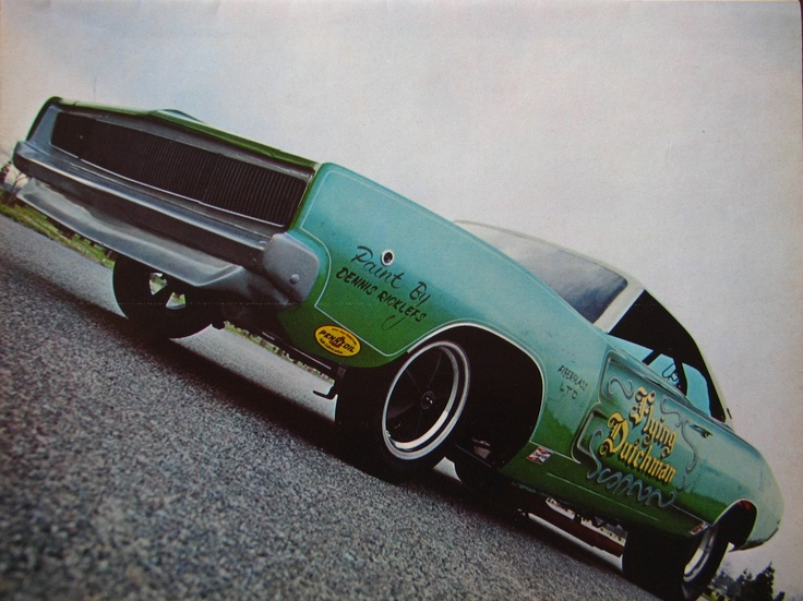 The Flying Dutchman 68 Dodge Charger Funny Car