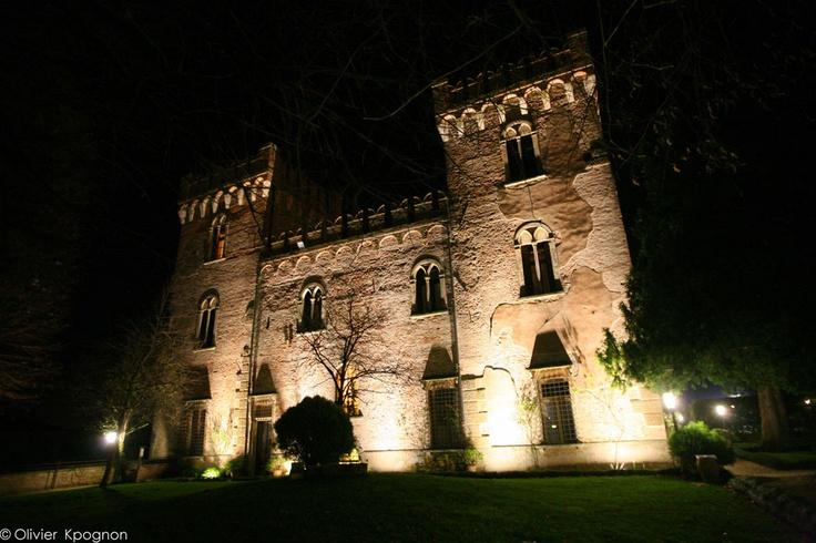 A medieval castle wedding in Verona