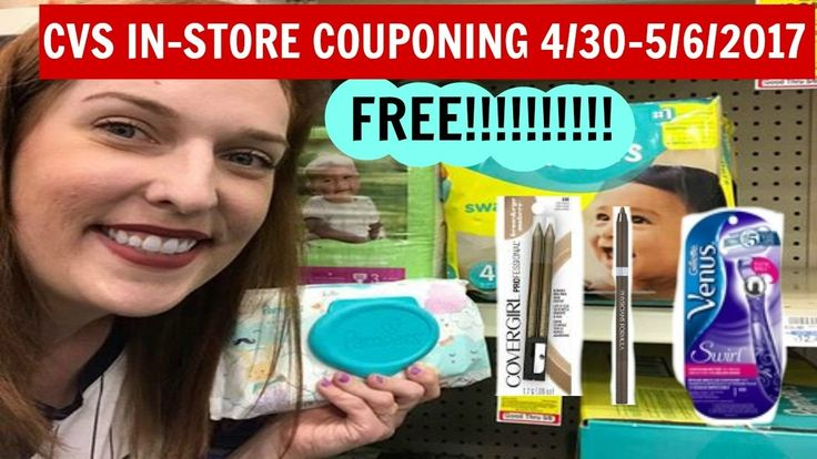 CVS In-store Couponing 4/30-5/6/2017 FREE Pampers Wipes. FREE Cover Girl...